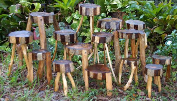 Wood Garden Plant Stands