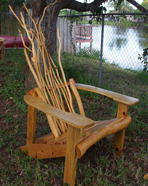 Rustic Adriondack Chair ...