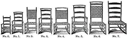 Shaker Rocking Chairs