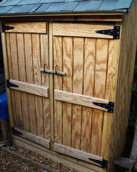 Rustic Woodworking Tool Shed Brad Luthin