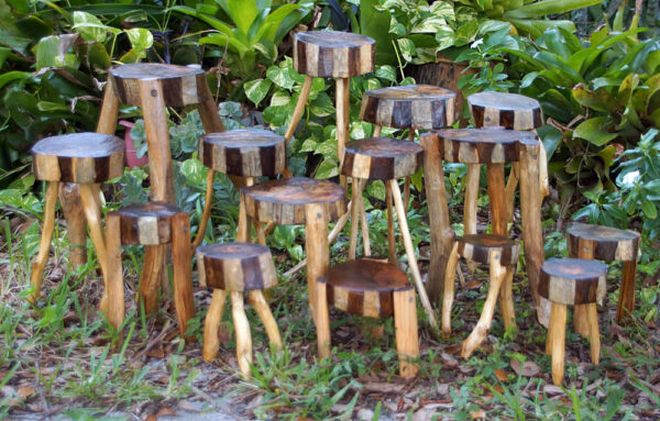 rustic plant stands on etsy