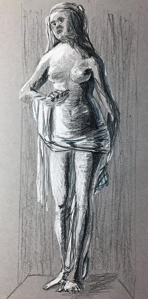 Copy of an Albrecht Dürer Drawing