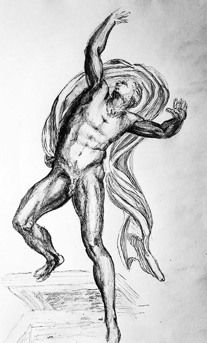 Copy of Michelangelo Drawing