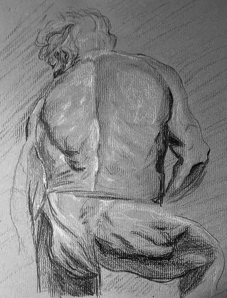 Copy of a Vinckenborch Sketch